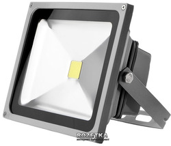 Прожектор Brille HL-12/30W LED CW IP65  (L123-004)